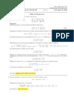 Corrección Segundo Parcial de Cálculo III, miércoles 6 de junio de 2018