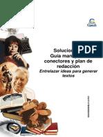 Solucionario Clase 3 CEG guía Manejo de conectores y plan de redacción 2015.pdf