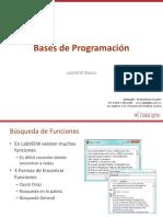 Bases de Programación