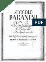 Centone di Sonate 1 - Guitar - Paganini