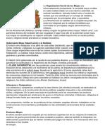 Organizacion Social Maya