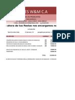 Modelo de Cotizacion (2)