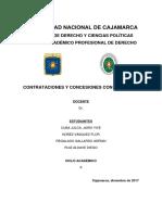 Informe de Resolución de Contrato