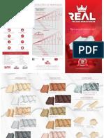 Folder de Produtos Real Telhas Esmaltadas