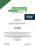 ExacqVision Start User Manual