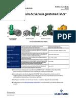 Guía de Selección de Válvula-giratoria Fisher