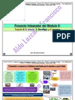 Proyecto Integrador Módulo 8 - Impacto de la ciencia, la tecnología y el consumo - Prepa en línea - SEP -G-12.