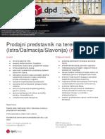 Oglas_Prodajni Predstavnik Na Terenu_Istra Dalmacija Slavonija