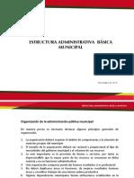 Estructura Adminiatrativa Municipal
