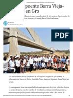 07-03-2017 Inauguran Puente Barra Vieja-Las Lomas en Gro.