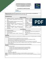 Programa Facilidades de Superficie - 2015-I
