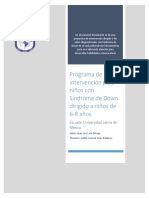 Programa Sindrome de Down