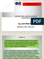 Instalaciones Sanitarias 03-05-2018