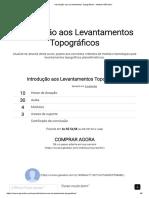 Introdução Aos Levantamentos Topográficos - Instituto GEOeduc