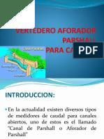 VERTEDERO AFORADOR.pptx
