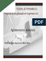 Revisão Aglomerantes PPGECAM