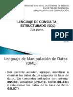 Lenguaje de consulta estructurado