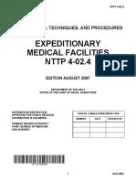 NAVY TACTICS, TECHNIQUES, AND PROCEDURES nttp-4-02-4