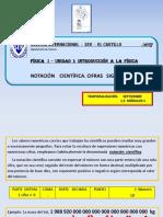 Fc3adsica i Notacic3b3n Cientc3adfica Cifras Significativas1