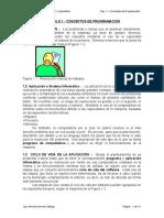 Capítulo 1 Conceptos de Programación