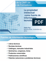 La propiedad intelectual como fuente de información tecnológica.ppt