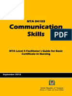 1Communication Skills.