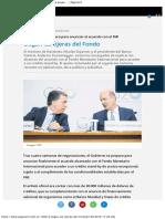 Llegan Las Tijeras Del Fondo El Gobierno Se Prepa... Página12