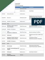 Program Schedule-Nebraska Dance Summit