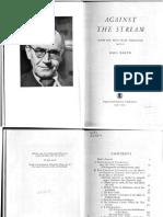 Against the Stream Shorter Post -War Writings 1946-52