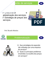 Gestão de Serviços - Material 09 Crescimento e Estratégias de Preços