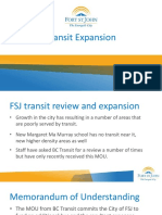 City of Fort St. John Transit Expansion Presentation