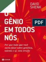 O Genio em Todos Nos - David Shenk.pdf