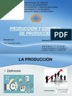 Produccion y Control de Produccion