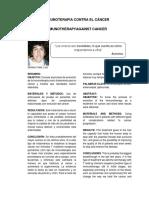 Inmunoterapia Contra El Cáncer (Estructura)Final