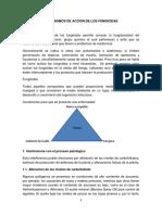 Mecanismos de Accion de Los Fungicidas