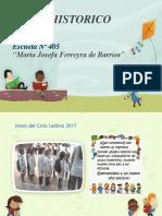 Libro Historico 2017 Escuela Nº405
