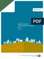 Informe 2016 Personas Con Discapacidad Completo