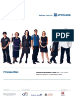 Spotless Prospectus