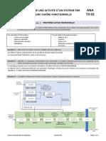 ANA TD02 Corrigé - Décrire Une Activité d'Un Système Par Une Chaîne Fonctionnelle