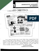 Boletín Federación Catalana de Ajedrez 1966 01 Nº 07