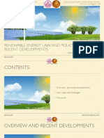 Renewable energy law and policy in Thailand