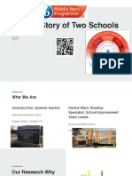 myp  a story of two schools  presentation   1