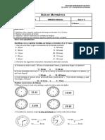 Guía Unidad 4 Medición de Longitud y de Tiempo