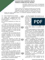 Documento de la Oficina de Enlace Mundial del REAA en Paris, Francia (17 de Junio 2009)