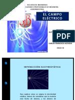 Diapositiva de Campo Electrico