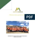 Informe_Visita Tecnica - Minera Yanacocha
