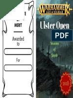 2018 UO - Certificate of Merit