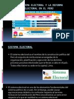El Sistema Electoral y La Reforma Electoral En
