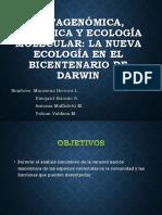 Metagenómica, Genómica y Ecología Molecular