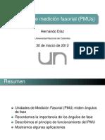 UNIDAD DE MEDICION FASORIAL